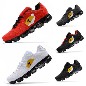 Inoltre TN Ultra Roller Scarpe da corsa Mens Air Cushion Kpu Nero Bianco Rosso Grigio Croce Escursionismo Camminare Athletic scarpe da tennis Outdoor sport per gli uomini