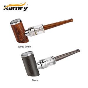 4 ㎖ K1000 플러스 분무기 EPIPE 나무 디자인 증기 E-CIG Vape와 1PCS 원래 Kamry K1000 플러스 E 파이프 키트 전자 물 담뱃대 펜 1000mAh의