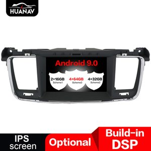 DSP Android 9.0 Car DVD player GPS navigation for PEUGEOT 508 2011-2014 radio multimedia Screen auto stereo head unit
