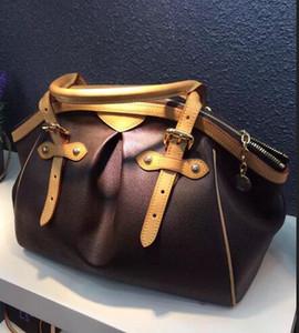 Vintage Tasche oxidieren Ledertaschen 100% echtes Leder Geldbörse Berühmte Markenname Handtaschen Designer Tasche Echtes Leder Marke Bag Freies Verschiffen