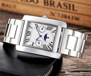 Top Brand, Luxusuhr Designer White Rose Golduhr Famous Uhren New Mens Paris Uhren Ct Uhren Quartz Herrenuhr montre homme