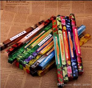مزيج اللون الهندي اليدوية دارشان دخان البخور عصا البخور البخور العصي متعددة 8PCS العطر = 1 صندوق صغير DHL