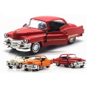 Cadillac coches antiguos 1/36 Escala Diecast Modelo coche con la luz de sonido