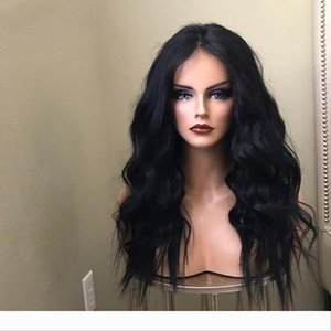 Pre Plucked 13X4 Lace Front Natural Wave Human Hair Wigs with Baby Hair Water Wet Brazilian Virgin Glueless Full Lace Wigs Hair