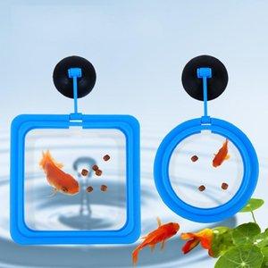 Fish Food Aquarium Anel Fish Tank Pequeno Tipo Feeder Tropical Fish Feeding Anel Aquarium Acessórios
