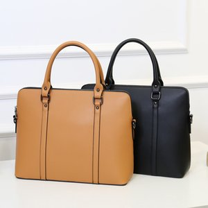 2020 Business Women's Briefcase Leather Handbag Women Totes 15.6 14 Inch Laptop Bag Shoulder Office Bags For Female Briefcases