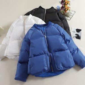 MUMUZI cotone imbottito cappotto donne 2019 inverno nuovi brevi parka sciolto giacca di cotone caldo outwear inverno spesso