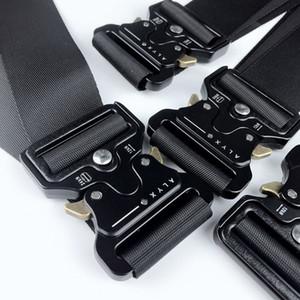 Marque New ALYX INS ceinture de sécurité 1017 ALYX 9SM unisexe boucle en métal toile Hip Hop Ceinture