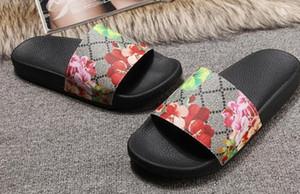 Europ Lüks Slayt Yaz Moda Geniş Düz Kaygan ile Kalın Sandalet Terlik Bay Bayan Sandalet Tasarımcı Ayakkabı Terlikler Slipper36-45 c10