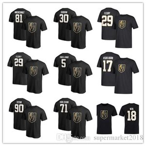 29 Marc-Andre Fleury 71 William Karlsson Men's Vegas Golden Knights T-Shirt 18 James Neal Hockey Jerseys 17 Vegrs Fans Tops Tees printed