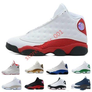 2020 Hococal Mens casual Shoes 13 Bred Black True Red History Of Flight DMP Discount Sports Shoe Women Sneakers 13s Black Cat