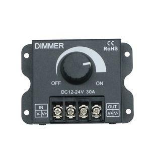 Umlight1688 30A 360W LED Single Color Dimmer Switch регулятор яркости для DC 12V 24V 5050 5630 5730 3014 Single Color LED Strip Light