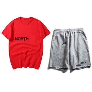 Men Designer T-Shirts Short Pants Breathable Suit Casual T Shirt Mens Womens Short Sleeve T-Shirt +7 Pants Fashion Wild suit