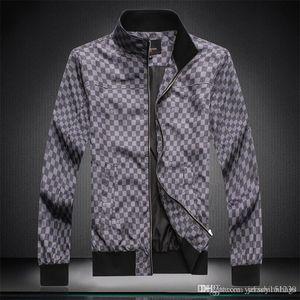 2019 Designer Mens Jackets Sports Brand Windbreaker Patchwork Coats Print Zipper Hoodies Running Outwear Wholesale