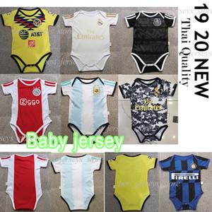 Inter Ajax Real Madrid El último bebé Argentina 2019-20 camiseta del jersey del bebé Mbappé Isco Madrid 6-24 meses camisa del bebé