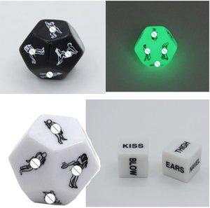 1 PCS Exotic Tricks Dice Game Toy For Bachelor Party Fun Adult Couple Novelty Gift fun toys Adults Funnels