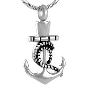Ciondolo cremazione Z267 argento in acciaio inox di cuore Fish Hook per i monili di Ashes Urn Keepsake Memorial collana