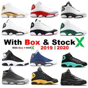 Più nuova versione 2020 Bred 11 Quai 54 Chris Paul casa cappello e abito gatto nero He got game 13 con le scarpe di sicurezza di pallacanestro del Mens Sneakers all'ingrosso