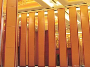 High quality good price Movable Sound Proof Partition Panels Acoustic Folding Operable Walls for Function Hall