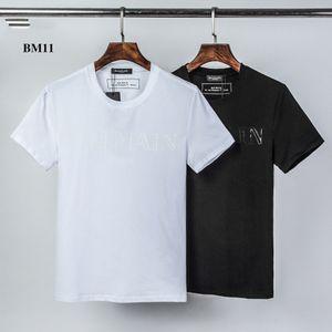 BM11 vendedor quente Designerluxury Shirts Homens Mulheres Moda Verão Brandshirts manga curta Casual Hip Hop Top Tees Mens Streetwear 2020579K
