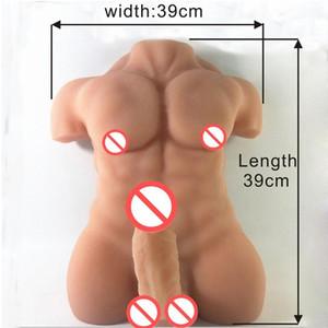 ENO muñeca de silicona para muñecas robot sexuales con enormes consoladores Gay muñeca del sexo masculino para muñecas mujeres adultas 7.9 pene de goma pulgadas