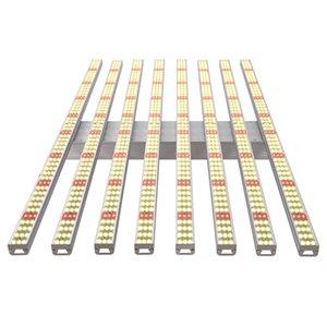 Grow огни новейший продукт водонепроницаемый полный спектр гидропоника парниковые 8 Бары 600W Samsung 2835 + 660нм Led светать для комнатных растений
