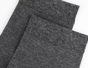 Business Casual Calcetines Medio Otoño Longitud de ropa interior ropa gruesa sólida