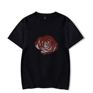 Femmes rappeur souvenir Tops Manches courtes Summer Juice Wrld RIP T-Shirts Hommes