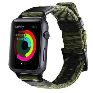 DIDI Braxelet for Straps 애플 시계 밴드 가죽 밴드 38mm 스트랩, iWatch 밴드 시리즈 3 Apple Watch 밴드 42mm 나일론 가죽 남성용