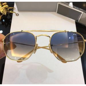 Luxo-3648 óculos de sol de designer de óculos de sol dos homens lente de vidro modelo geral óculos de sol máscaras homens mulheres óculos uv400 51mm Gafas de sol