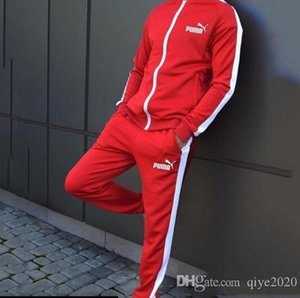 PM осень спортивные костюмы для мужчин дизайнеры пальто TopsPants костюмы мода роскошные мужчины толстовки кофты на молнии Мужская одежда A01