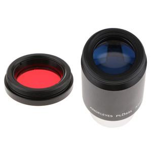 망원경 접안 렌즈 PL32 Plossl 렌즈 1.25 ''/ 31.7mm 범용 완전 멀티 코팅 레드 문 컬러 필터