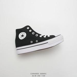 2019 New Chuck 10 schwarz Hallo Plattform-beiläufige Schuh Taylor 10S Canvas Männer Frauen Schuhe Mode plimsolls Weiß beiläufige Schuh-Größe 35-40