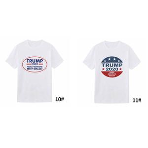 Men Donald Trump 2020 T-Shirt O-Neck USA Election Short Sleeve Shirts Trump print T-Shirt letter Tops Tee Shirt 11styles LJJA4068