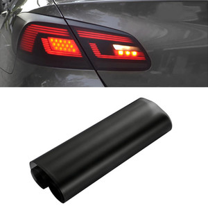 Car-Styling 30 * 150cm Matt Smoke Lumière Film voiture noir mat Tint phares antibrouillard Feu arrière Vinyle Film Lampe arrière teinter Film