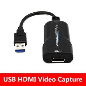 USB de vigilancia DVR tarjeta mini tarjeta de vídeo HDMI 2.0 Captura de vídeo de mano de teléfono de juegos HD de la cámara de captura de grabación Box +