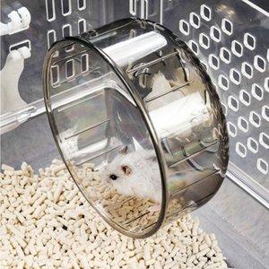 Hamster roda Running Transparente Roda Hamster Jogging esteira Silencioso pequeno Supply Pet