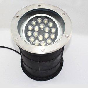 Fanlive 3 PCS Angle Réglable 15w18w Ac85-265v Dimmable IP68 LED Lampe Souterraine Souterraine Décorative Escalier Lampe Encastré Lumière