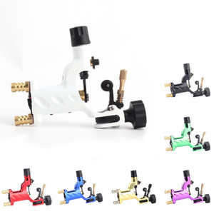 Rotary Tattoo Machine Shader Liner 7 Couleurs Assortiment Tatoo Tatoo Tatoo Gun Kits d'alimentation pour Tatouage Artistes RRA1200