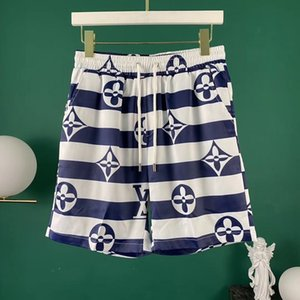 Hot Selling 2020 Mens Shorts Designer Mens Summer Fashion Beach Pants Mens Shark Print Cotton High Quality Short