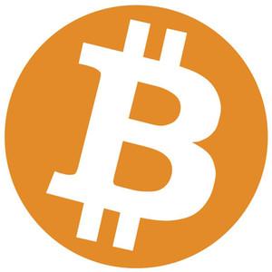 500pcs diâmetro 30 milímetros bitcoin etiqueta da etiqueta do logotipo, cor de laranja impressão em papel gloss, No.FS03 item