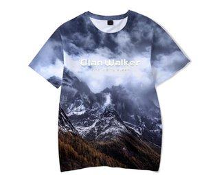 Nell'estate del 2018, i prodotti assorbenti del sudore e facili da indossare Alan Walker T-shirt fashion full service con stampa 3D
