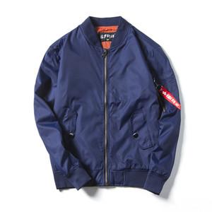 Amry Pilot ceketin bir polo ceketler nedensel PEVSN Bombacı Ceket Erkekler Sonbahar Air Force One ceket jaqueta erkek 4XL, YA692 mens