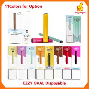 Ezzy OVALE monouso Dispositivo Pod Starter Kit Upgraded 280mAh Batteria 1.3ml cartucce Vape penna VS Puff bar oltre Xtra