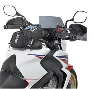 GIVI دراجة نارية حقيبة الوقود الجديدة حقيبة الهاتف المحمول الملاحة متعددة الوظائف الصغيرة حزمة خزان النفط الأشرطة الثابتة الثابتة