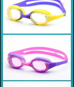 Gafas de baño de gafas de natación de alta calidad de verano 56436565 Impermeable y anti-niebla con enchufe clip de marco desmontable