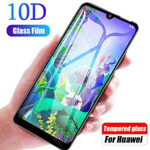 Tela 10D para o vidro LG Q60 K50 K40 V50 vidro temperado Protector Na LG K10 V40 V30 V20 Glass On G8 G6 G7 Protective Telefone Film