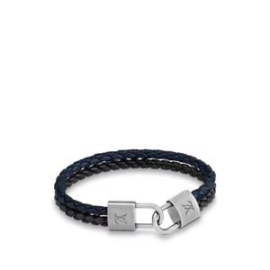 2020 pulseras de diseño nuevo de la manera marcas para las mujeres de Louis Cadena amor bloqueo pulsera encanto de la joyería de lujo hecho a mano de la cuerda gg brazalete
