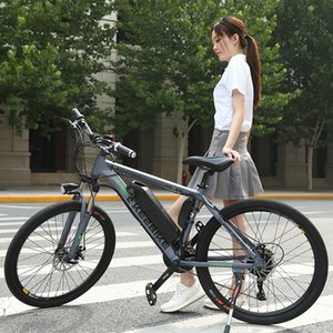 KAYNAK Factory 36v350w Lityum Batarya Bisiklet Alüminyum Alaşım Elektrikli Araba 27-Hız Dağ Bisikleti