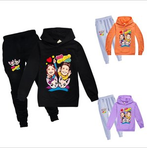 Toddler Girl Clothes Children Kids Clothes Girls Outfits Clothing Set Hooded Sweatshirt+ Trousers Pants 2020 New me contro te
